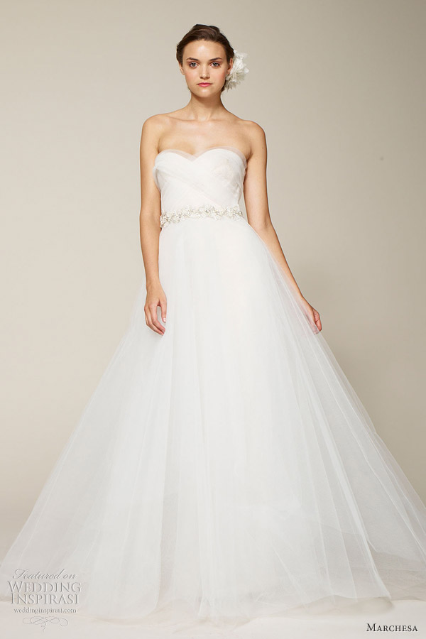 marchesa bridal spring 2013 ball gown
