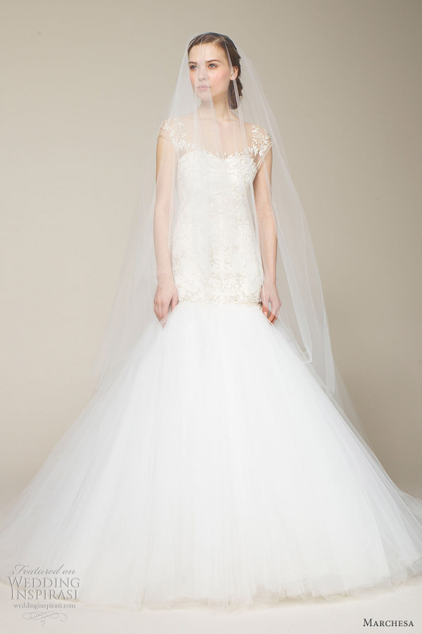 marchesa mermaid wedding dress