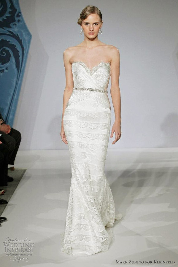 mark zunino for kleinfeld spring 2013 bridal collection