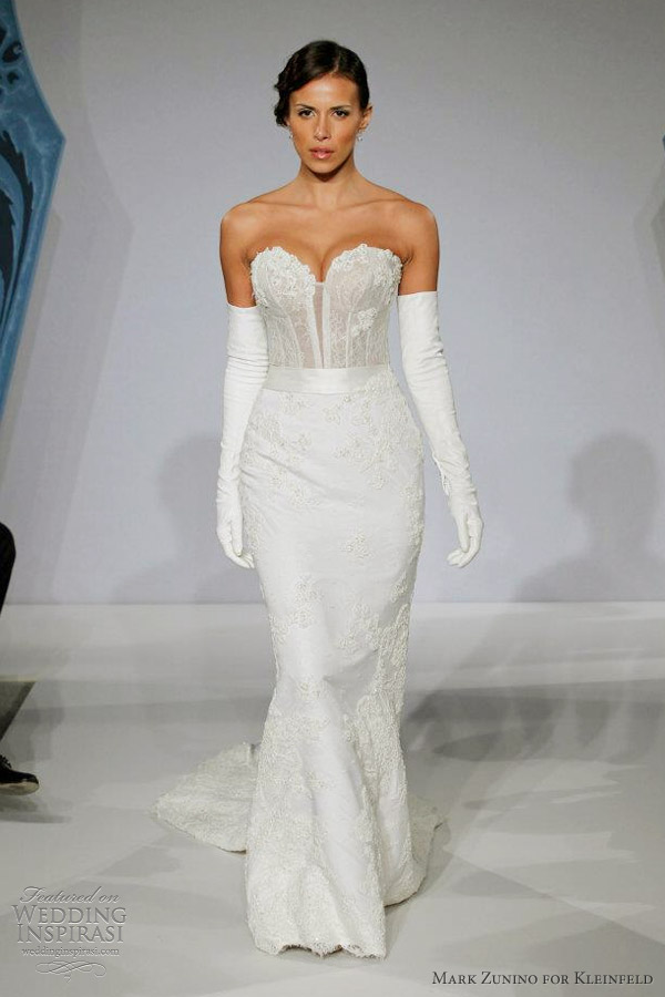 Mark zunino for kleinfeld wedding dresses wedding inspirasi for Kleinfeld wedding dresses with sleeves