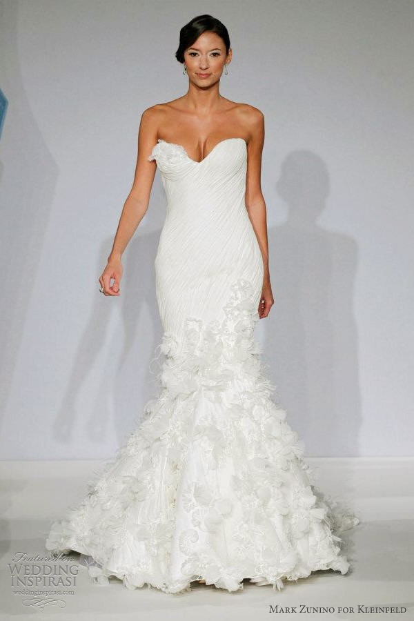 Mark zunino for kleinfeld wedding dresses wedding inspirasi page 2 mark zunino kleinfeld bridal spring 2013 junglespirit