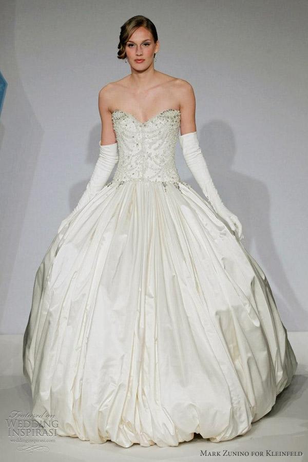 mark zunino kleinfeld spring 2013 ball gown