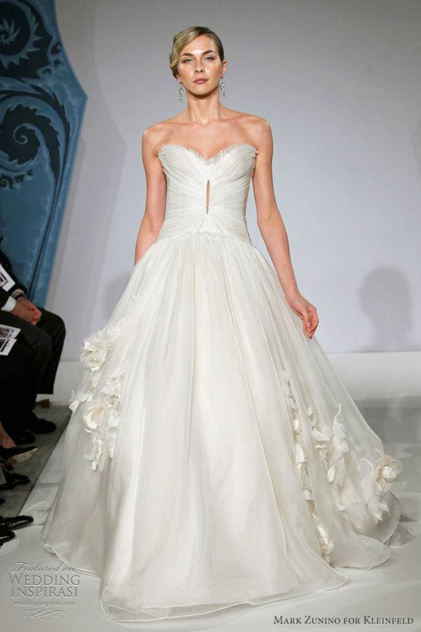 mark zunino wedding dress spring 2013