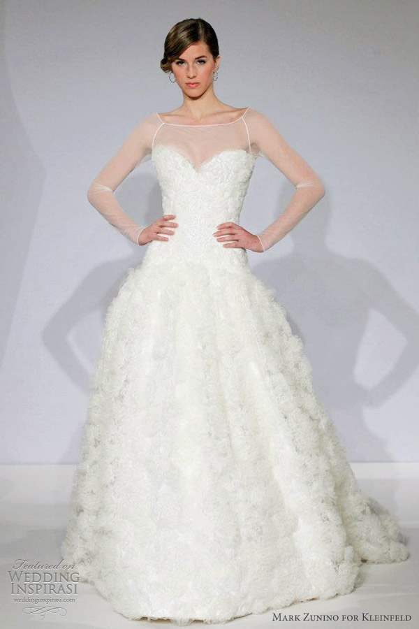 mark zunino wedding dresses spring 2013