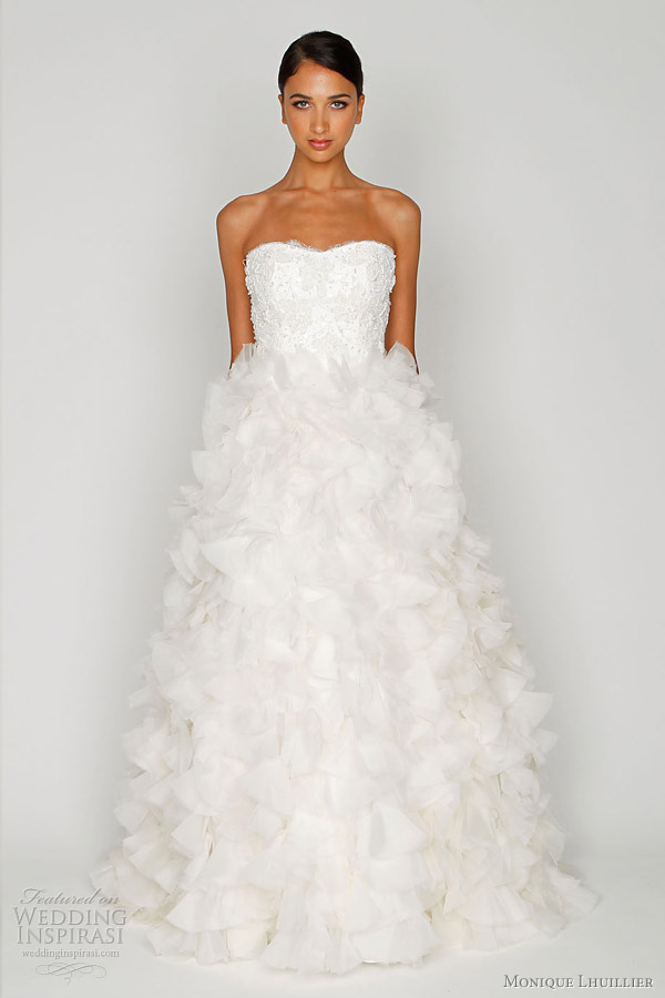 monique lhuillier bliss wedding dress 2012