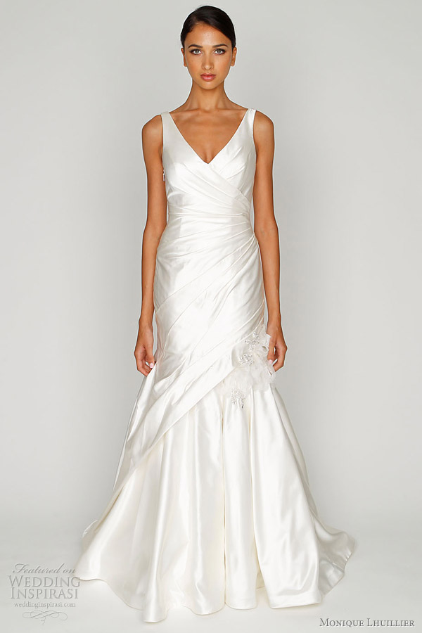 monique lhuillier bliss wedding dresses 2012 collection