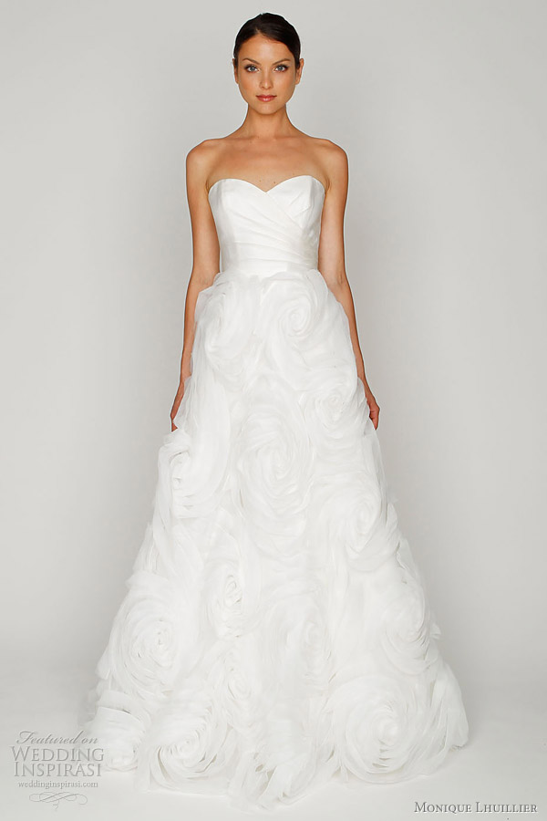 monique lhuillier bliss wedding dresses 2012