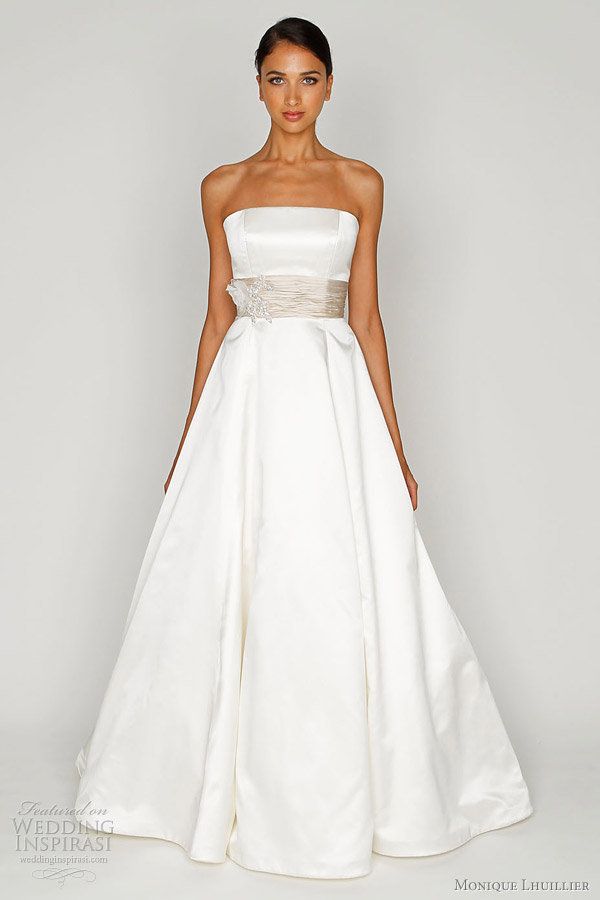 monique lhuillier bliss wedding gown 2012