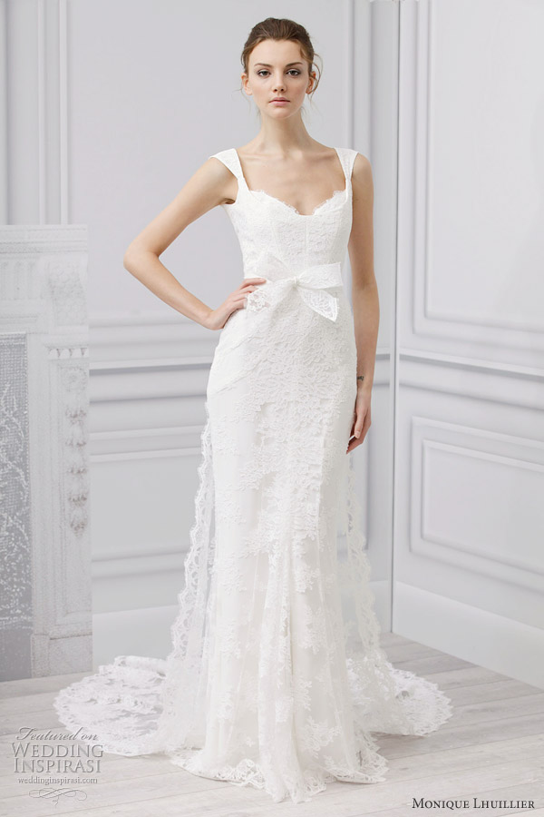 Monique Lhuillier Bridal Spring 2013 Wedding Dresses Wedding Inspirasi Pa