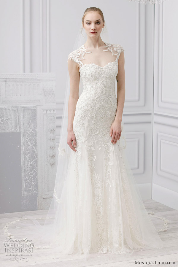 Monique Lhuillier Bridal Spring 2013 Wedding Dresses Wedding Inspirasi