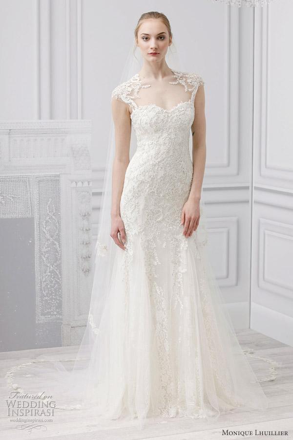 Monique Lhuillier Bridal Spring 2013 Wedding Dresses Wedding Inspirasi