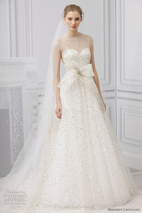7c66a8ada69 Monique Lhuillier Bridal Spring 2013 Wedding Dresses | Wedding ...