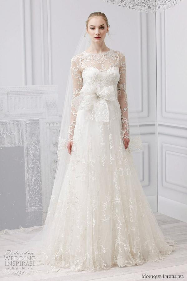 monique lhuillier josephine wedding dress 2013