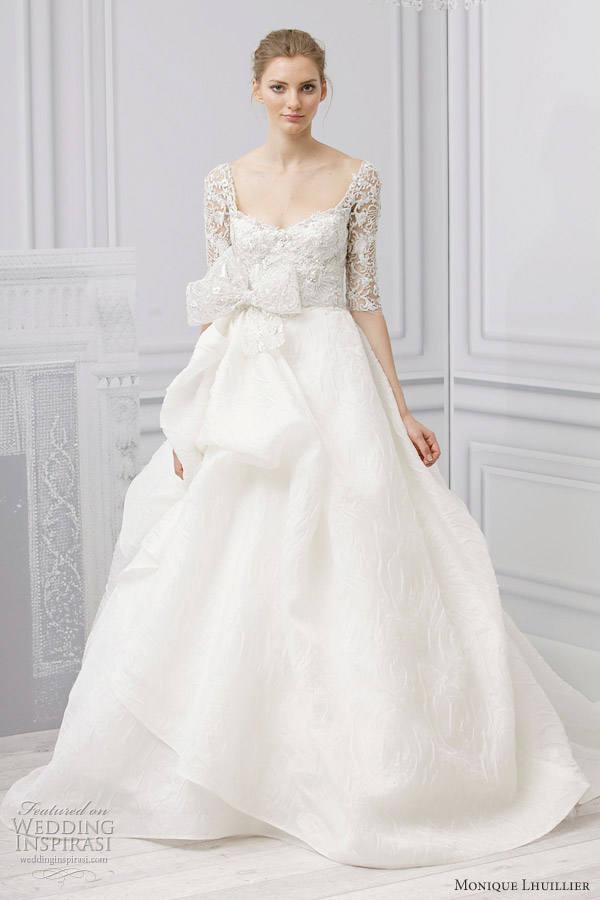 Monique Lhuillier Bridal Spring 2013 Wedding Dresses  Wedding ...