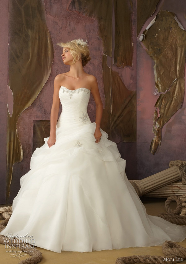 Mori Lee Ball Gown Wedding Dresses : Mori lee wedding dress
