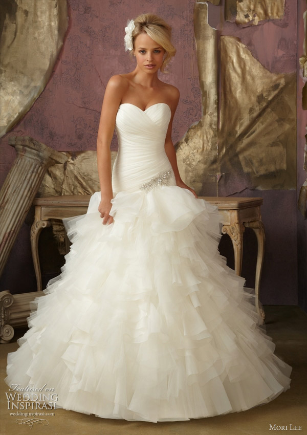 mori lee bridal wedding dresses 1856