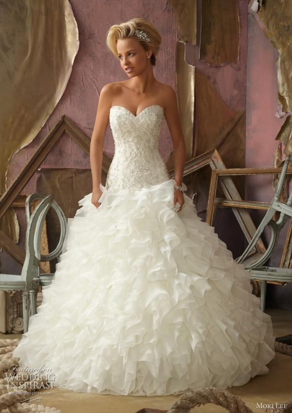 Mori Lee Ball Gown Wedding Dresses : Mori lee wedding dresses inspirasi page
