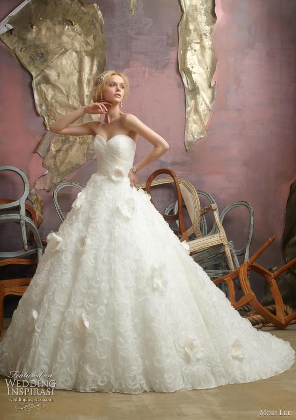 mori lee wedding dresses 2012