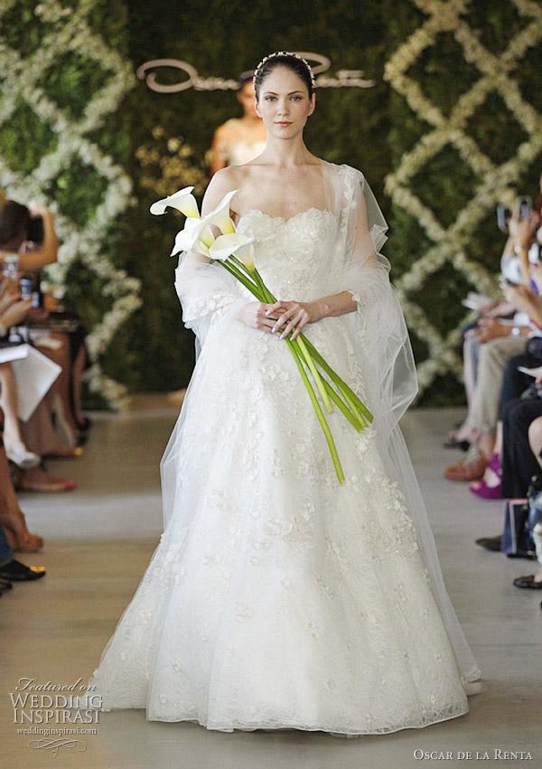 Свадебные платья от Оскара де ла Рента (фото)