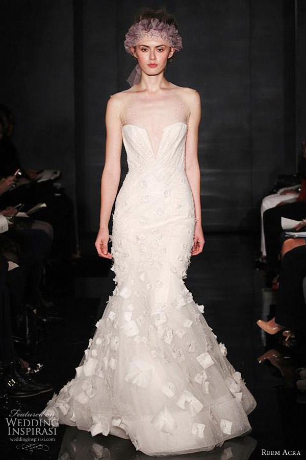 reem acra bridal fall 2012 wedding dresses