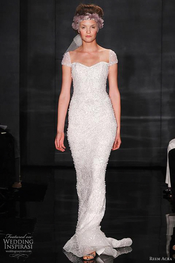 reem acra fall 2012 wedding dresses