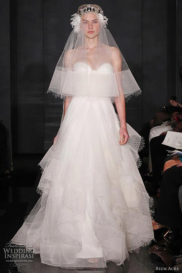 reem acra fall 2012 wedding dresses wedding inspirasi