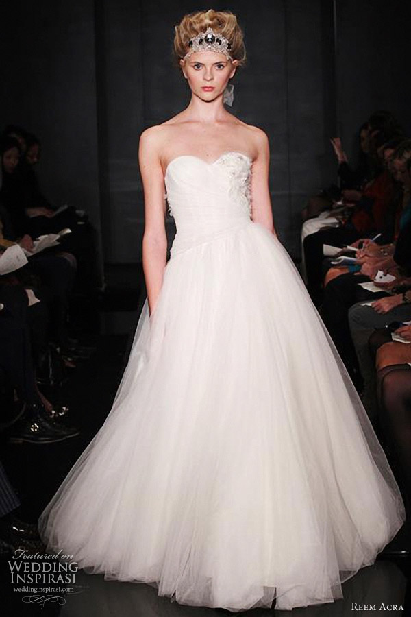 reem acra wedding dresses fall 2012 collection