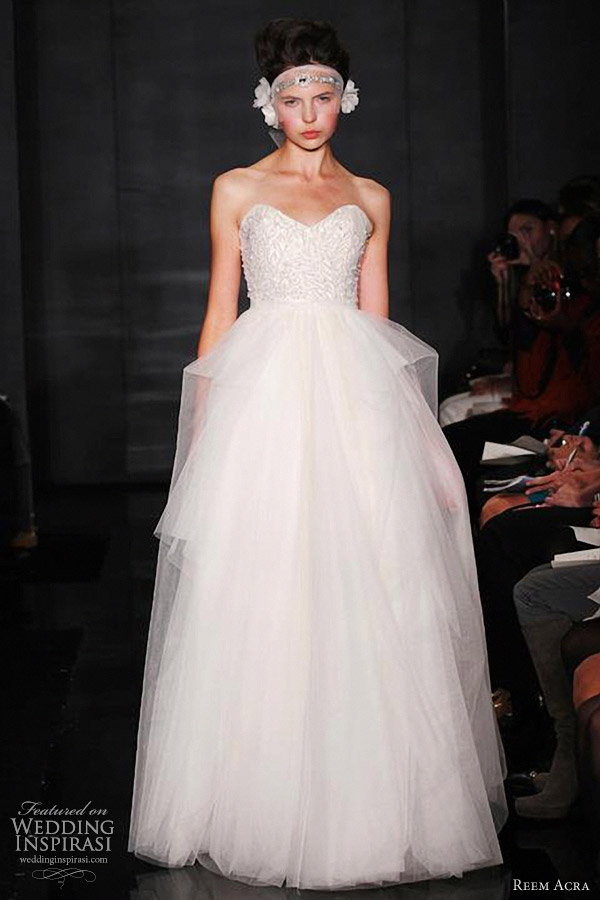 reem acra wedding gown fall 2012
