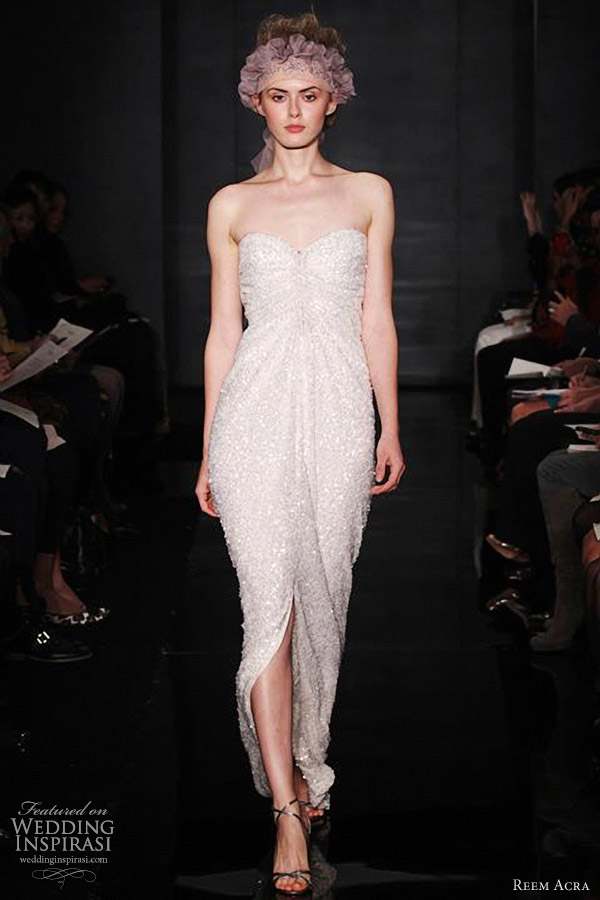 reem acra wedding gowns fall 2012