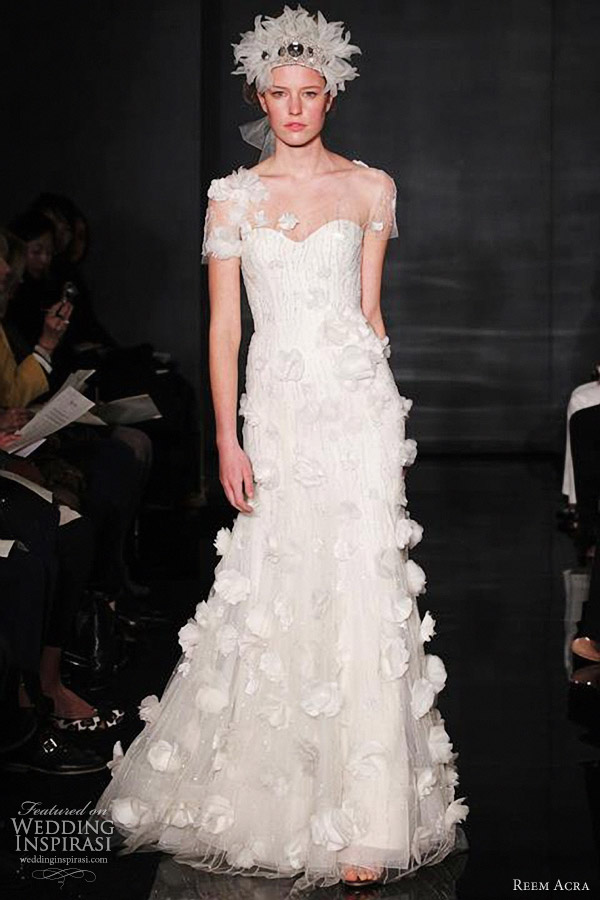 reem acrea fall 2012 wedding dress