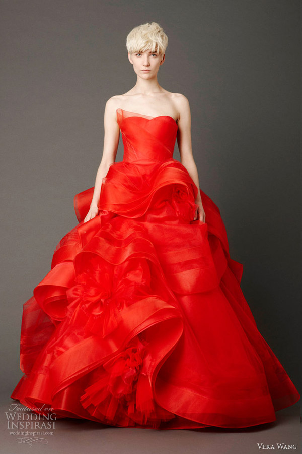 Vera Wang Bridal Spring 2013 Wedding Dresses Wedding