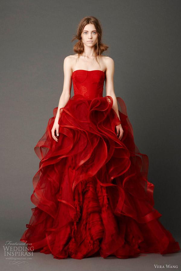 vera wang wedding dresses spring 2013