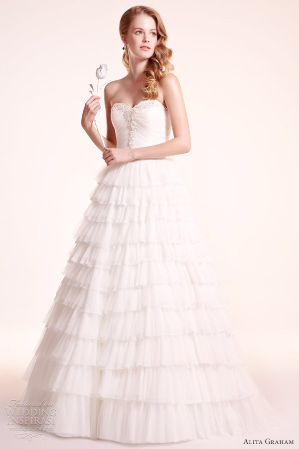 alita graham bridal fall 2012