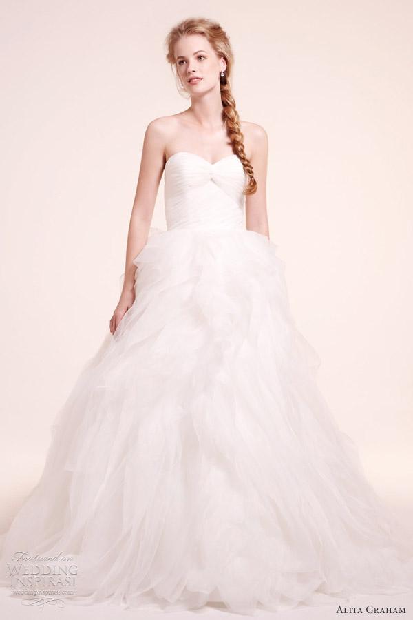 Alita Graham Fall 2012 Wedding Dresses   Wedding InspirasiGorgeous Wedding Gowns 2012