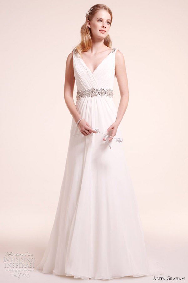 alita graham fall 2012 wedding dress