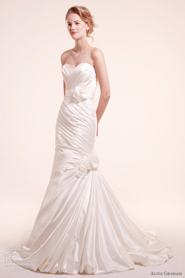 alita graham fall 2012 wedding gown