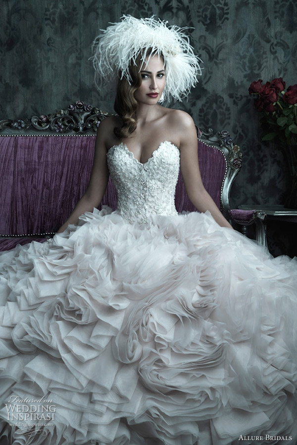 Allure Bridals Couture Fall 2012 Wedding Dresses | Wedding Inspirasi