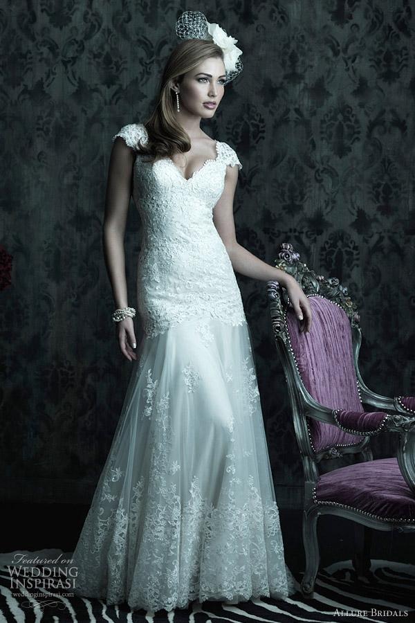 Allure Bridals Fall Gelinlik modelleri 2012