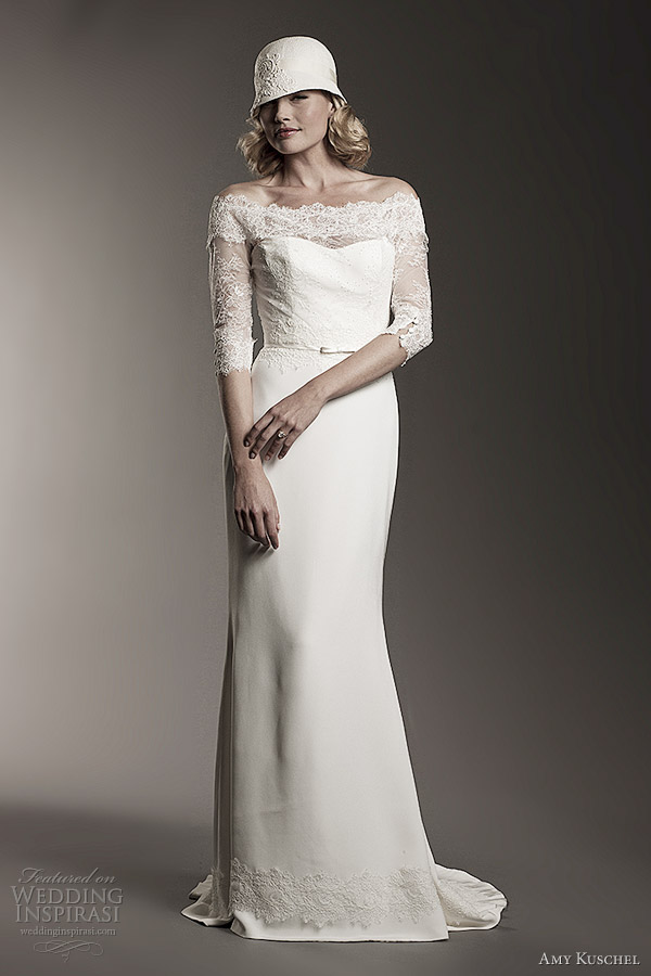 amy kuschel 2012 audrey wedding dress