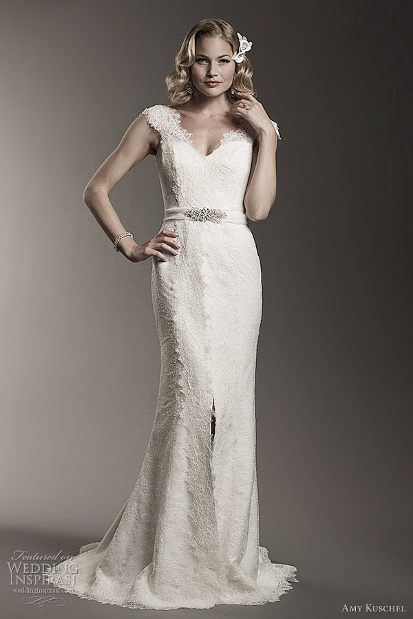 amy kuschel bridal 2012 rita wedding dress