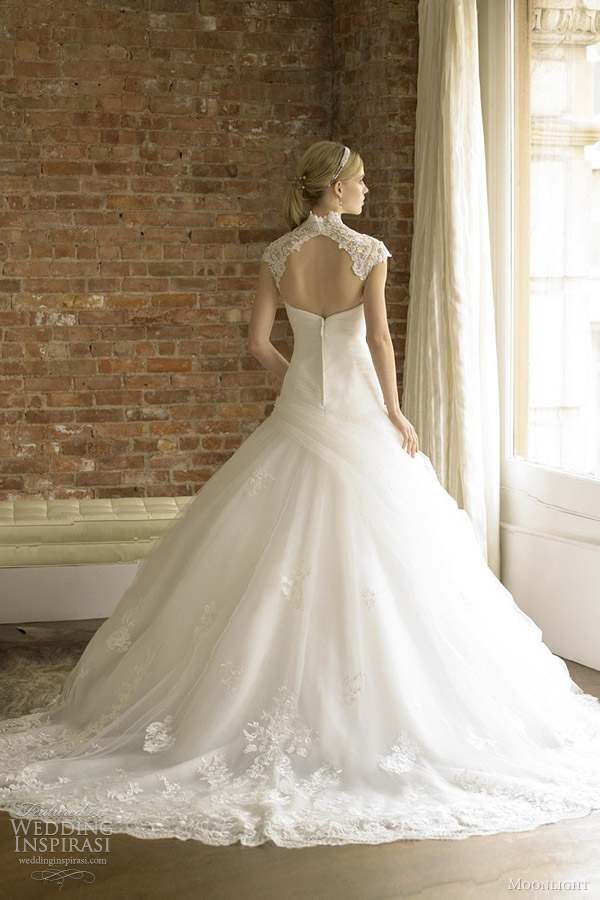 ball gown wedding dress moonlight bridal
