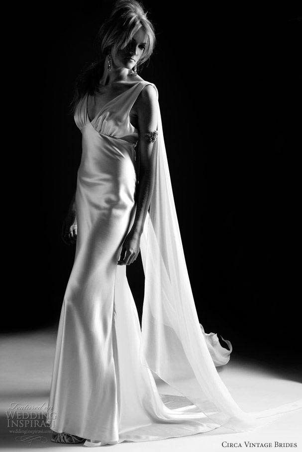 circa vintage glam wedding dresses 2013 vivviene