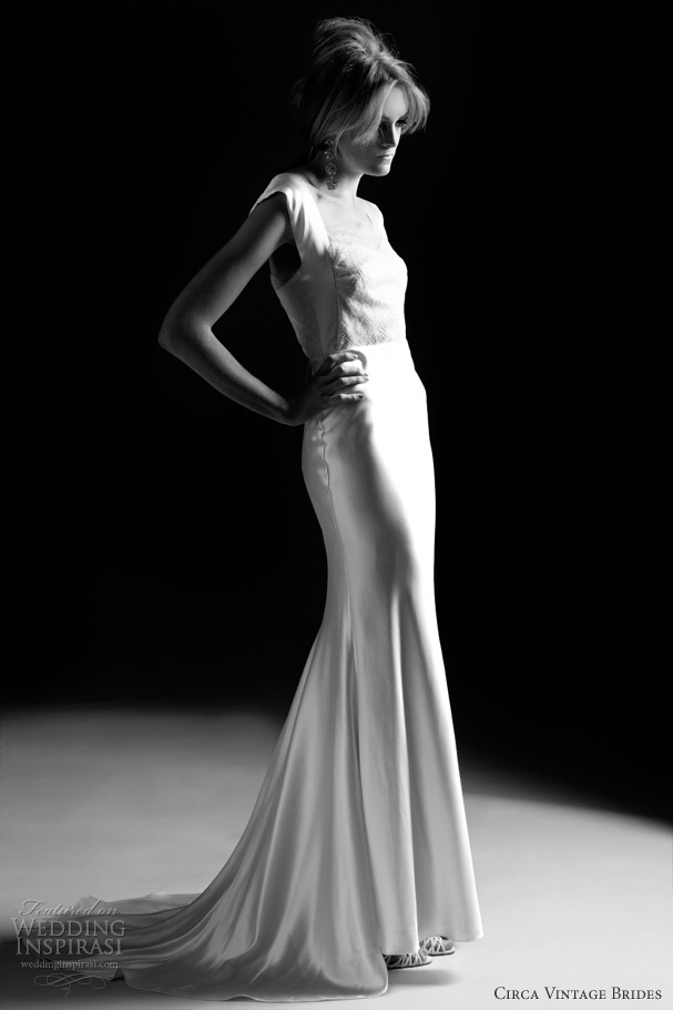 cirva vintage 2012 2013 eddie wedding dress