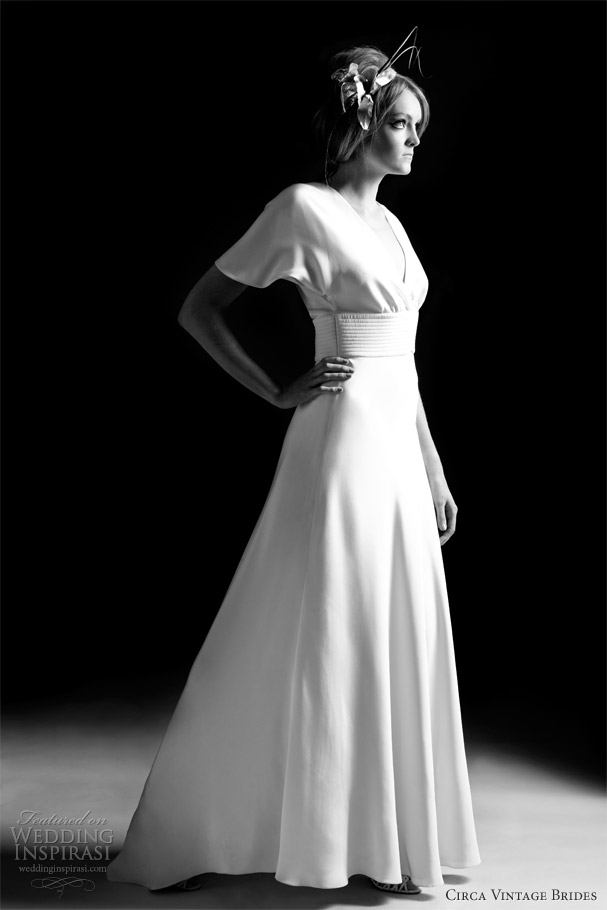 cirva vintage brides ava wedding dress