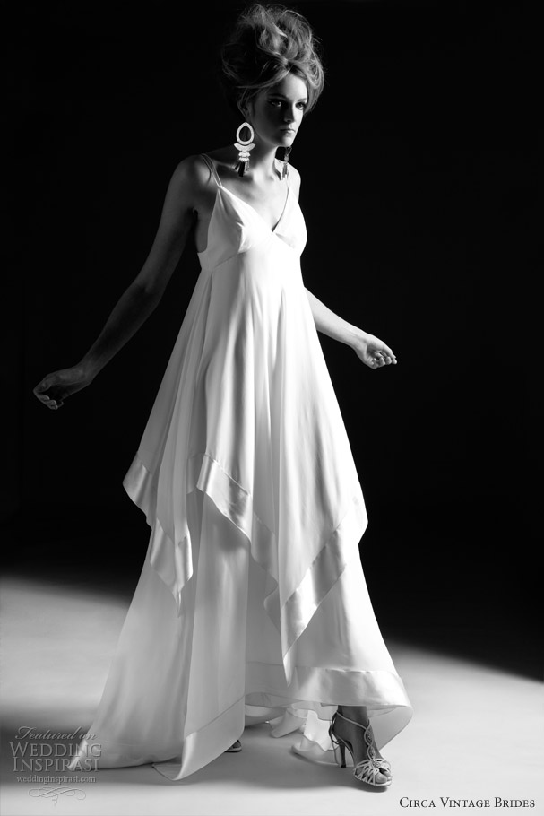 cirva vintage wedding dresses 2013 lilly
