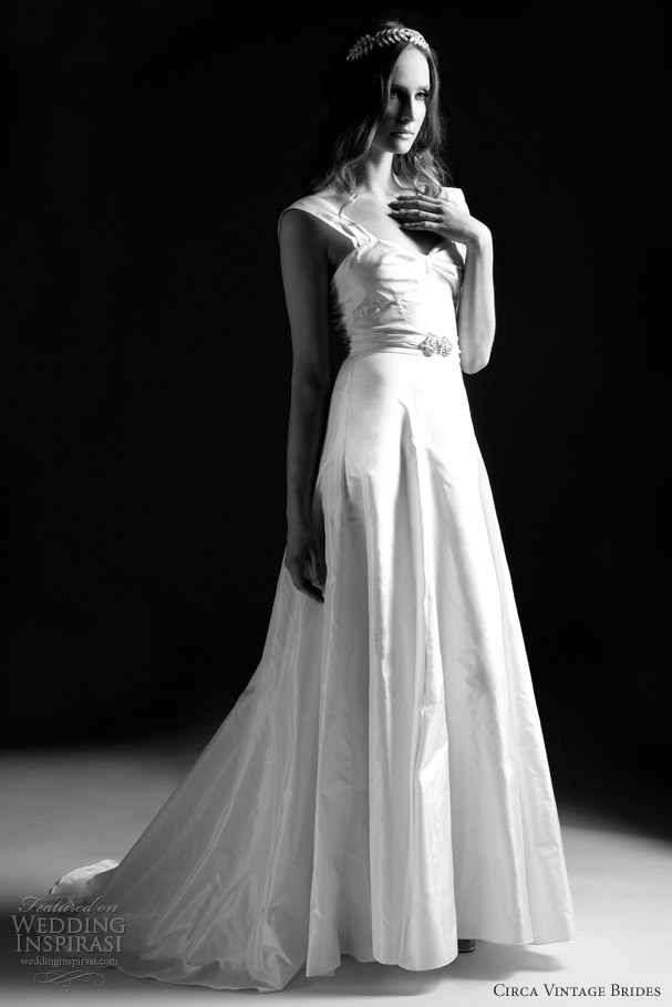 cirva vintage wedding dresses 2013 molly