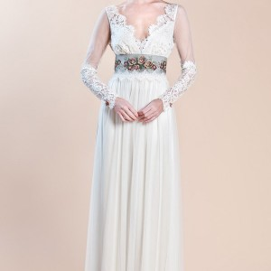 claire pettibone wedding dresses fall 2012 abbey