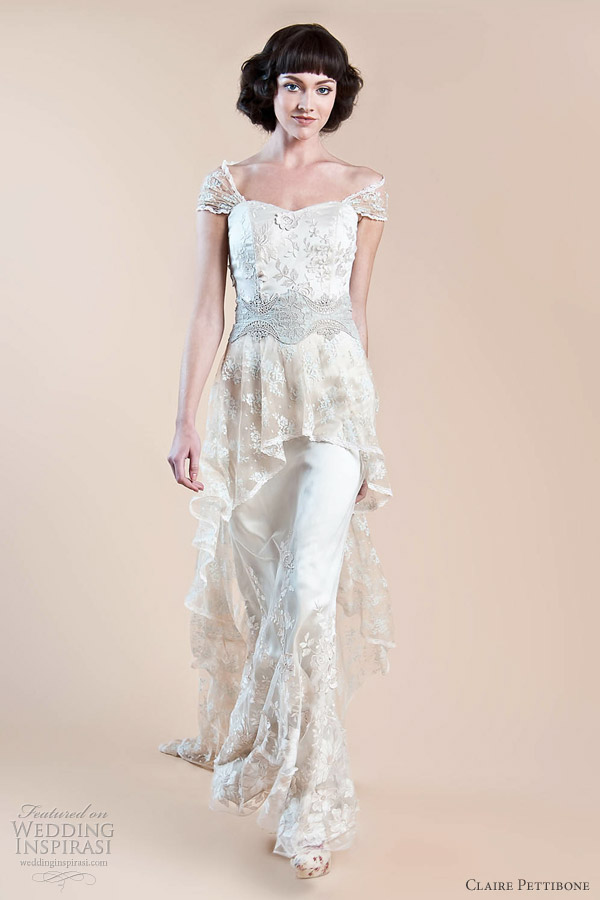 Claire Pettibone Wedding Dresses Fall 2012 Hazel