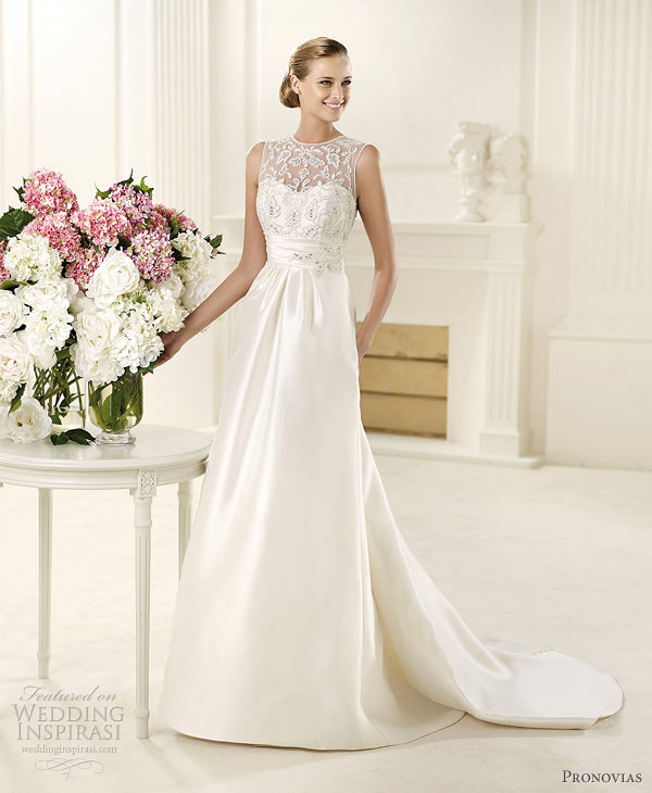 dance wedding dress pronovias 2013