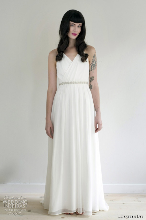 elizabeth dye 2012 lady wedding dress